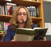 Dr. Speede reading at Powell's Books.